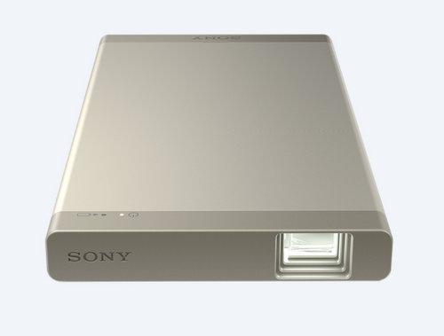 索尼/Sony MPCL1AN 便携式微型卡片投影仪 适用于手机平板等 – 金色 现价$524!