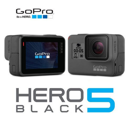 GoPro Hero5 Black 超高清4K运动摄像机 折后$418!