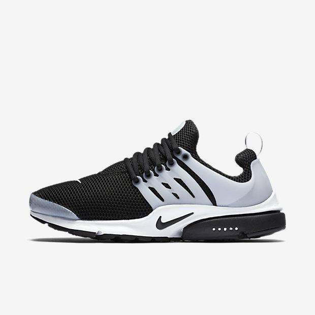 Nike Air Presto 男子跑步运动鞋 – 黑灰配色 现价$125.99!