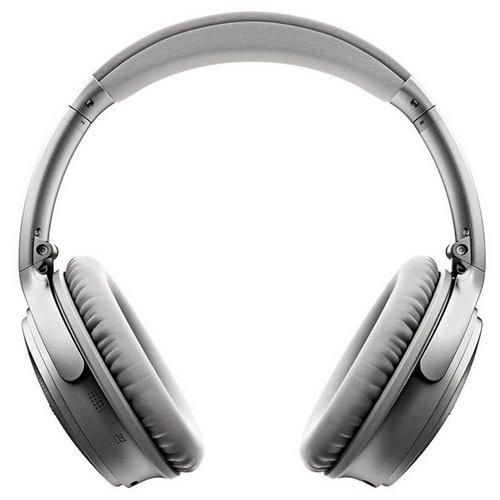 Bose QC35 主动降噪无线蓝牙头戴式耳机 – 黑、银两色可选 折后$386!