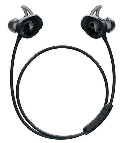 BOSE SoundSport wireless 无线蓝牙入耳式耳机防汗运动耳塞 黑色 折后$199!