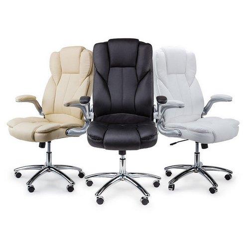 AVANTE 高级办公椅 人造皮革 可收回扶手 团购价只要$119!