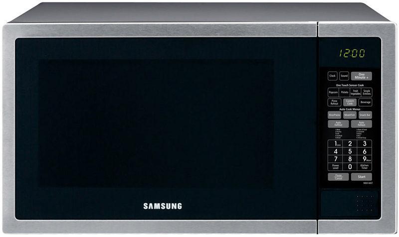 三星/Samsung ME6144ST 40L 不锈钢大容量微波炉 折后只要$193!