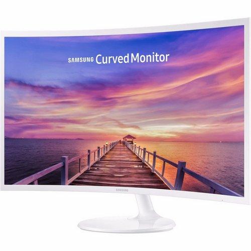SAMSUNG 三星 C32F391FWE 32寸 1080P FreeSync 曲面显示器 低至4折优惠!