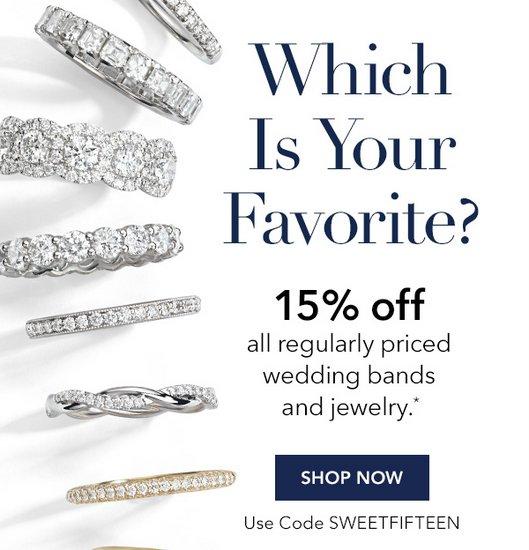 珠宝首饰特卖网站 Blue Nile 所有原价的婚戒、珠宝等商品额外85折优惠!