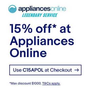 澳洲家电专卖商 Appliance Online 官方eBay店:全场所有商品额外85折优惠!