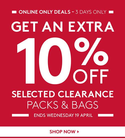 户外运动品牌 Kathmandu 官网部分精选背包及行李包 在特价的基础上额外再享9折优惠!