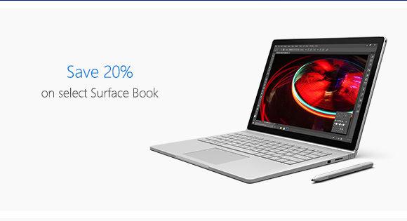 微软澳洲官网 网购节活动:Surface Book、Bose QC-35 等耳机 8折优惠!