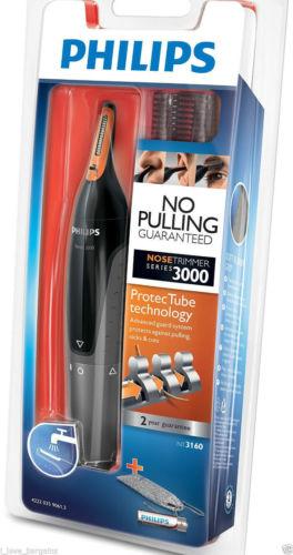 飞利浦/PHILIPS NT3160 全身水洗鼻毛眉毛修剪器 现价$24.95!