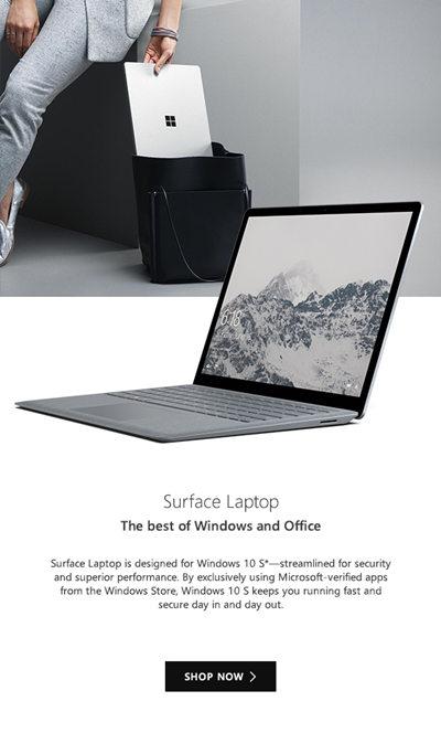 全新款微软 Surface Laptop 今天起正式发售!从$1499起!