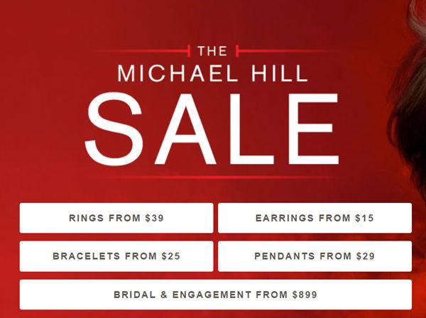 澳洲珠宝商 Michael Hill 官网特惠活动:耳钉仅从$15起!  手镯仅从$25起!  钻戒仅从$899起!