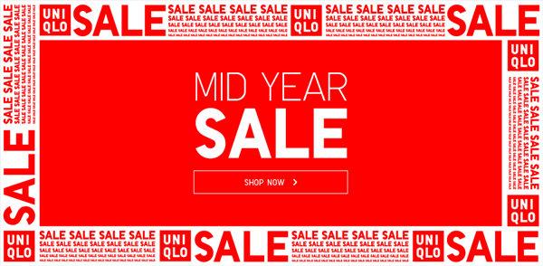 服装品牌 Uniqlo/优衣库 澳洲官网年中大促活动已经开始:多种商品特价出售!