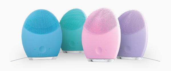 FOREO 官网:LUNA 2代 电动洁面仪 – 多色可选 85折优惠!只要$211!