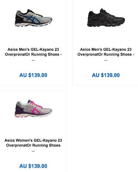 亚瑟士/ASICS GEL-KAYANO 23s 新一代旗舰跑鞋 到手价只要7!