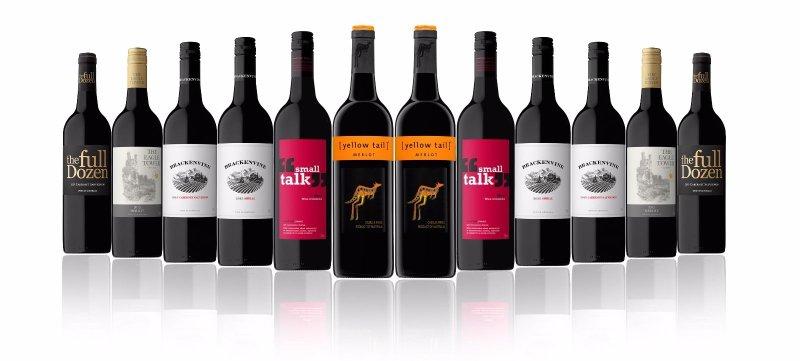 澳洲红酒12瓶装 包括 Yellowtail Merlot 等 特卖价只要$64!