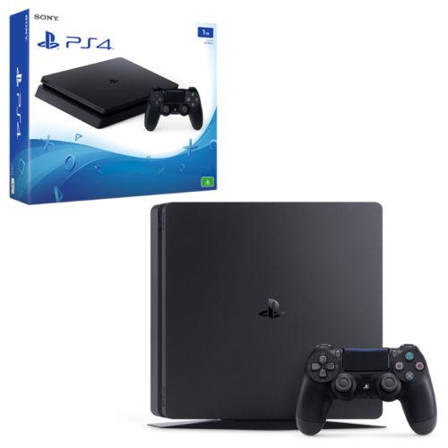 Sony/索尼  PS4 Slim 1TB版 黑色游戏主机 折后只要$435!