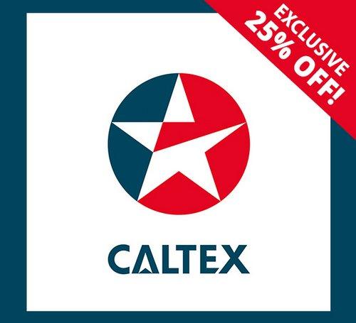 Caltex 20刀的加油卡现团购价只要$15!