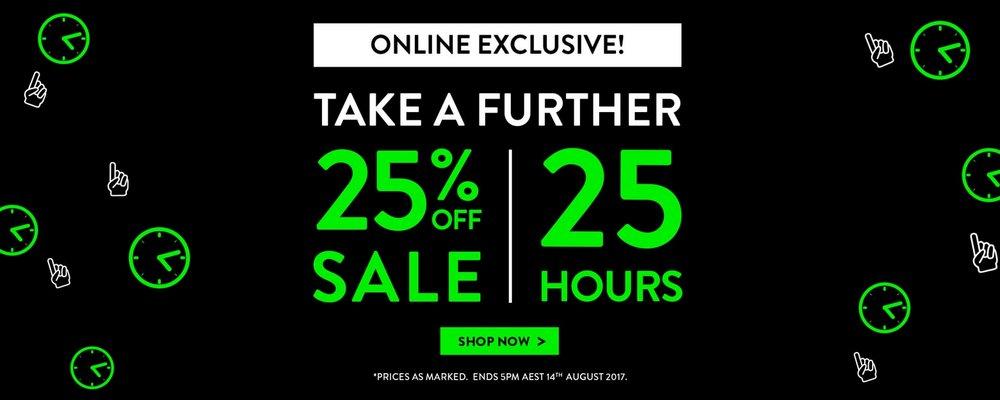 澳洲男装品牌 Tarocash 网购特惠:所有折扣类商品在原有折扣价基础上额外再减25%!