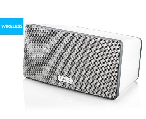 SONOS PLAY:3 家庭智能音响系统 WiFi无线 白色