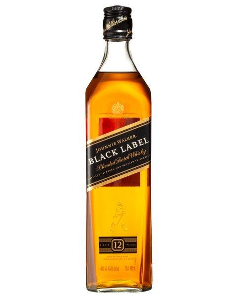 JOHNNIE WALKER 黑牌 威士忌 12年份 700mL*12瓶 折后只要$485!