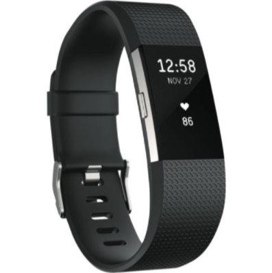 Fitbit Charge 2 3352569 智能时尚心率手环 黑色 大号 8折优惠!