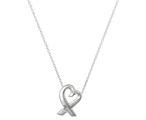 蒂芙尼 Tiffany & Co. Paloma Picasso 设计爱心吊坠银色 折后只要$223!