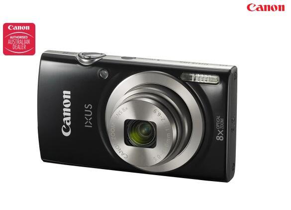 佳能 Canon IXUS 185 数码相机 – 黑色