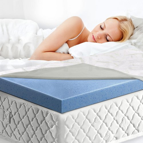 COOL GEL Memory Foam Mattress Topper 记忆棉床垫套 Queen Size 厚度8CM