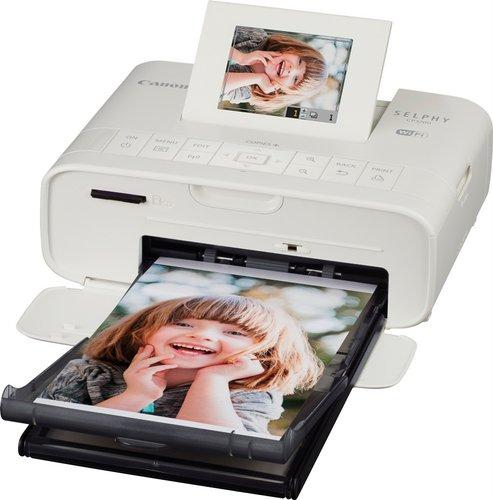 Canon 佳能 SELPHY CP1200 便携无线照片打印机 白色版 8折优惠!