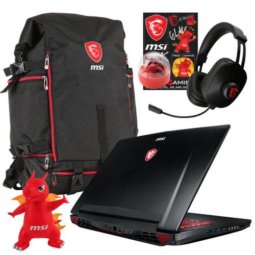 微星 Msi GT72VR 7RD-635AU 17.3英寸游戏笔记本电脑【i7-7700HQ 16G内存 GTX1060显卡 120Hz屏 1T+256GSSD】
