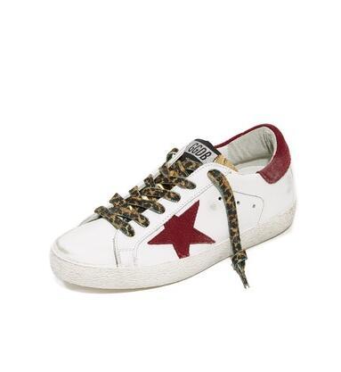 Golden Goose Superstar 仿旧皮运动鞋