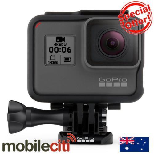 新品首发:最新款 GoPro HERO 6 Black 运动摄像机 4K60帧 裸机防水 88折优惠!