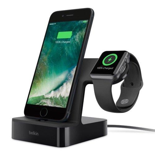 贝尔金 Belkin PowerHouse 2合1 iPhone 及 Apple Watch 充电基座 – 8折优惠!