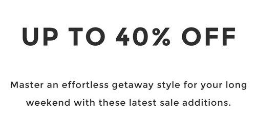 奢侈品特卖网站 YOOX:多个品牌的精选特价类商品