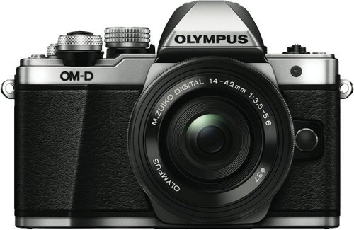 OLYMPUS 奥林巴斯 E-M10 Mark II 无反相机套装(14-42mm EZ F3.5-5.6 电动变焦镜头)85折优惠!