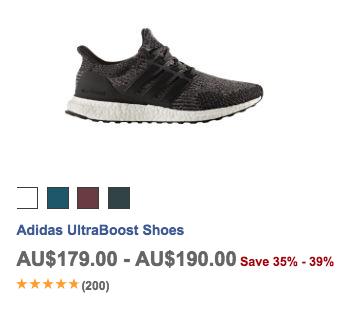 运动产品专卖网站 Wiggle 季中特价活动:Adidas、Under Armour、Reebok、2XU 等多个品牌的运动服饰、运动鞋等商品