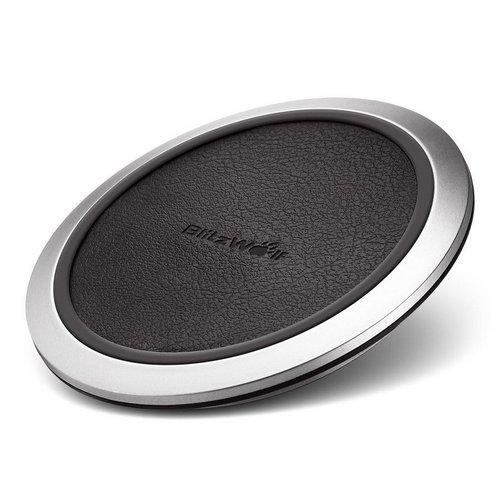 BlitzWolf 充电狼 BW-FWC1 Qi Wireless 快速无线充电底座 9折优惠!