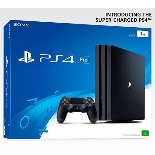 索尼 Sony PlayStation 4 Pro 1TB版 游戏主机 黑色 85折优惠!