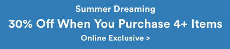服装品牌 Cotton On 官网活动:购买4件以上商品可享额外7折优惠!