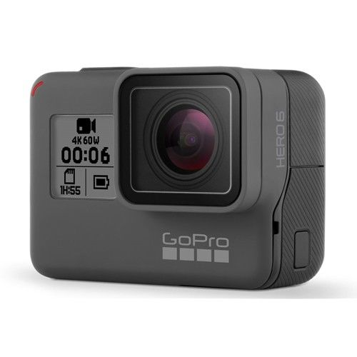 GoPro GPXHDHX601  HERO 6 Black 运动摄像机 4K60帧 裸机防水 8折优惠!