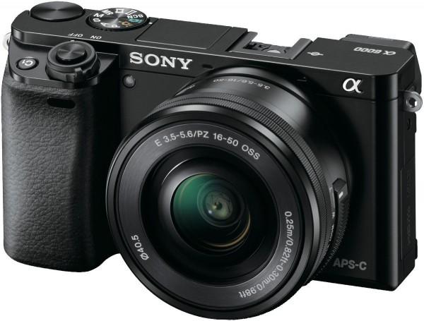 Sony 索尼 ILCE6000LB A6000 单镜头微单数码相机(16-50mm) – 8折优惠!