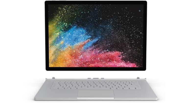 新品发售 : Microsoft 微软 Surface Book 2 13.5寸 2合1笔记本电脑 学生购买可享85折优惠!