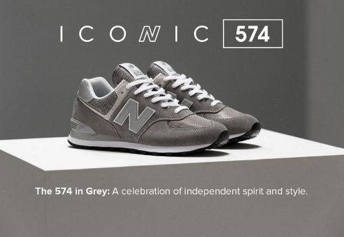 New Balance 澳洲官网:574 系列经典跑鞋 男女多个款式可选 5折优惠!
