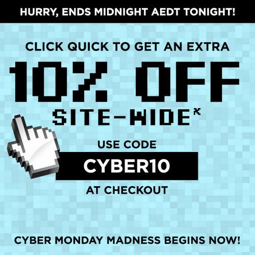 """团购网站 Scoopon """"Cyber Monday""""特价活动:全场所有团购用码后可享"""