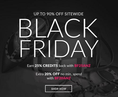 """奢侈品特卖网站 Reebonz """"黑五""""特价活动:全场所有商品在原有特价的基础上 再享额外8折优惠!"""