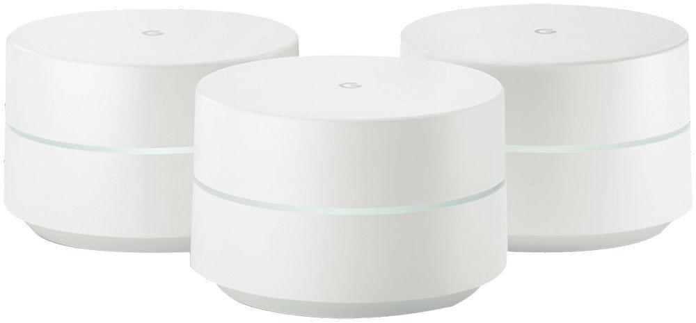 Google Google GA00158-AU 家用 Wi-Fi 系统  无线路由器 3件套装 – 85折优惠!
