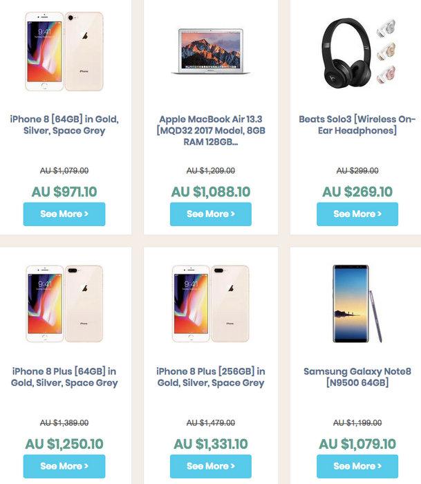 "Vaya 官方 eBay 店""黑五""活动:全场所有商品 - 包括 iPhone、MacBook、iPad、三星手机等 - 用码后可享81折优惠!"