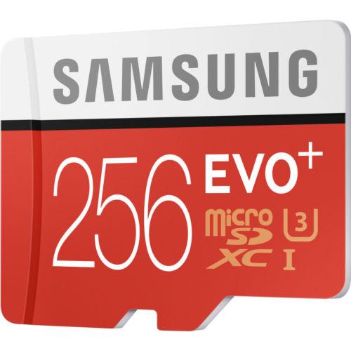 三星 Samsung EVO Plus 256GB 高速SD存储卡 手机内存卡 接近半价优惠!