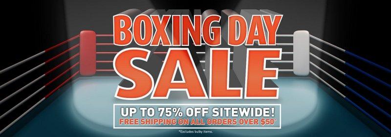 "Shaver Shop 官网""Boxing Day""活动:全场所有商品低至25折优惠!"