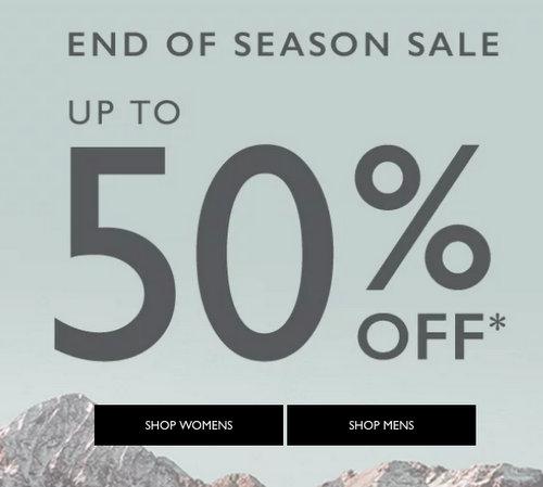 鞋履品牌 Clarks 季末特价活动:部分精选特价商品